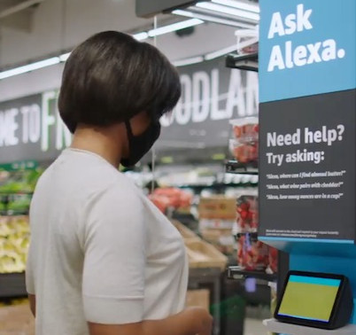Amazon launches new grocery store with 'smart' shopping carts and Alexa guides