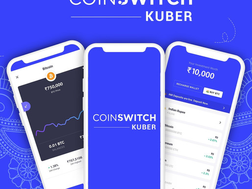 CoinSwitch Kuber raised $15 mn from Ribbit Capital, Kunal Shah, others