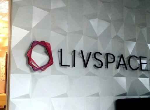 Livspace raised $90 Mn From Kharis Capital, Venturi Partners & Others