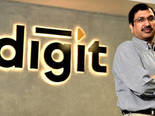 Online insurance provider Digit Insurance closes Rs121 Cr in fresh round