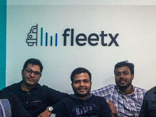 Logistics startup Fleetx.io raised $3million in PreSeries from existing investors