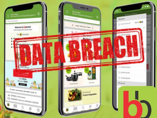 BigBasket faces data breach; details of 2 Cr users put on sale on dark web