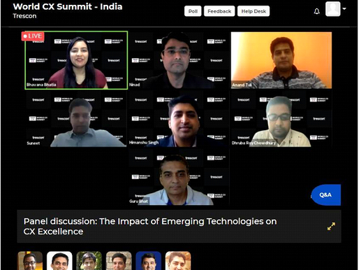World CX Summit shed light on the need to rebuild India's technological ecosystem with CX