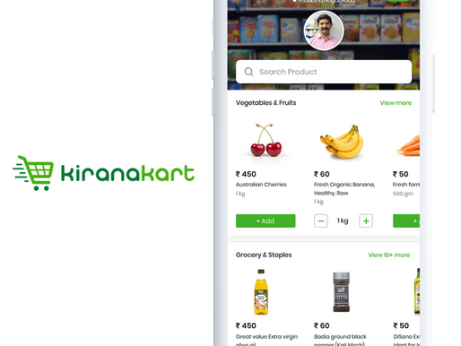 Online delivery startup KiranaKart raised Rs 5.33Cr in pre-seed round