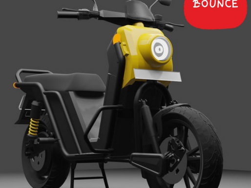 Bounce Gets Approval For Its Electric Scooter, Test Ride Begins this Saturday