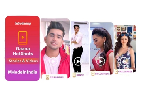 Gaana launches HotShots that allows users to create and share short videos and stories