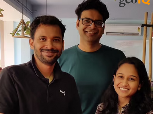 Location Intelligence startup GeoIQ raises Rs 2.5 Cr led by 9Unicorns