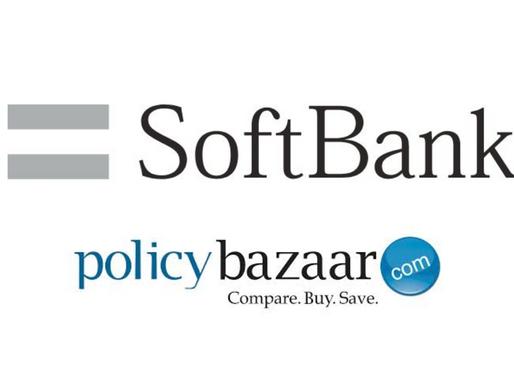 PolicyBazaar raised Rs 356.6 cr from SoftBank