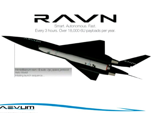Space startup Aevum debuts world's first fully autonomous orbital rocket launching drone
