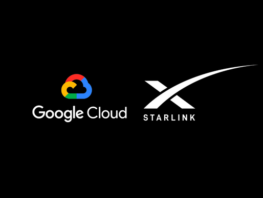 Google Cloud collaborate with SpaceX's Starlink for enterprise connectivity at network's edge