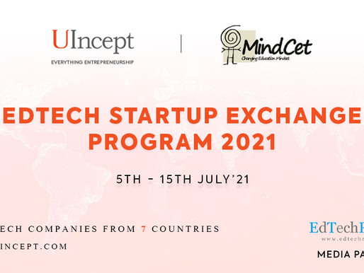UIncept, India and MindCET, Israel join hands to support Global EdTech startups