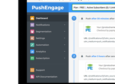 Management Firm Awesome Motive Acquires Push Notification Platform PushEngage