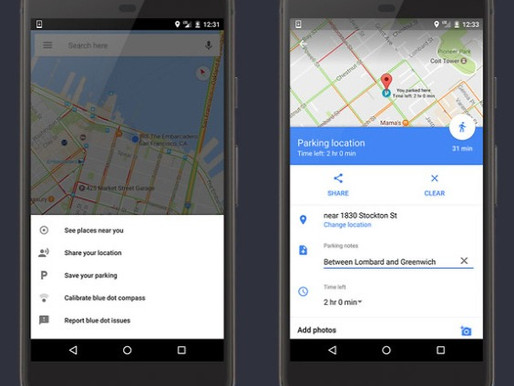 Google Maps begins accepting parking fare via Google Pay