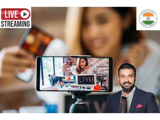 Raj Kundra to launch 'Made in India' live streaming platform