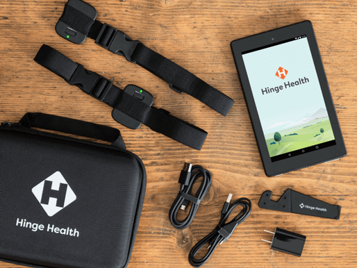 Hinge Health has raised $310 Mn Series D at a $3 Bn valuation