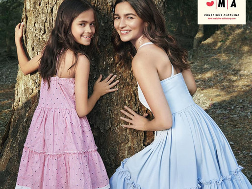 Indian film actor Alia Bhatt launched her own conscious clothing apparel brand for children, Ed-a-Ma