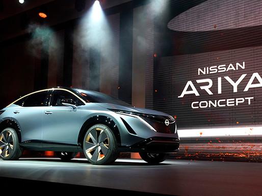 Nissan Motor launches electric SUV Ariya