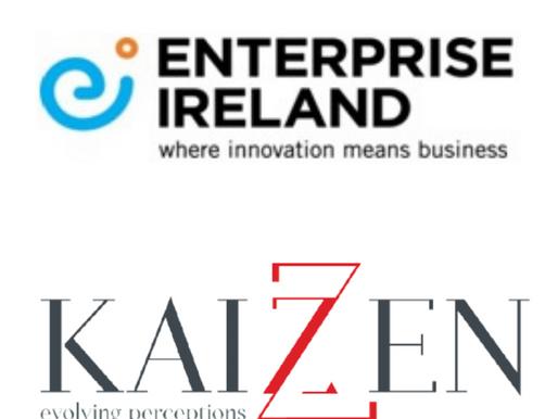 In a multi-agency bid, Enterprise Ireland retains Kaizzen as their PR Agency