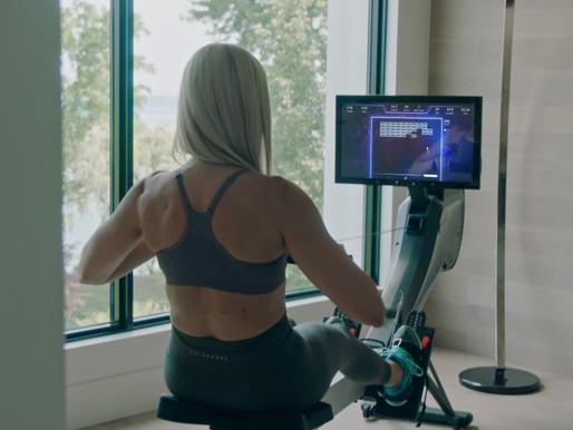 Home fitness company Aviron rises amid lockdown.