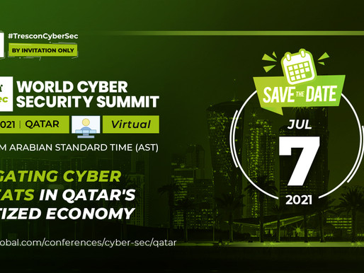 Experts to navigate Qatar's National Cyber Security Strategy at Trescon's World Cyber Security Sumit