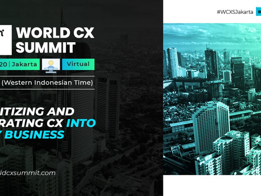 Global CX experts to dive-deep into transforming customer experience in Indonesia
