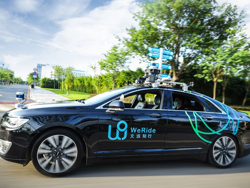 Chinese autonomous driving startup WeRide bags $200 mn in funding