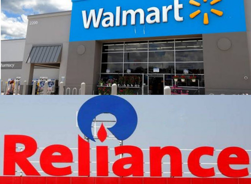 RIL in talks to sell minority stake in retail business to Walmart