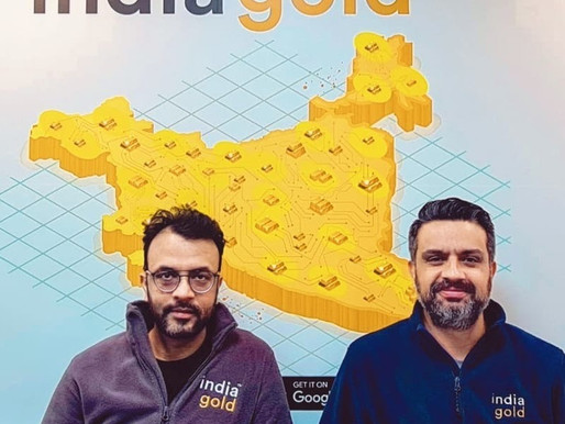 Indiagold raises $12 Mn led by PayU and Alpha Wave Incubation