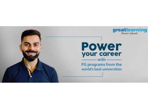Edtech startup Great Learning ropes in Virat Kohli as brand ambassador