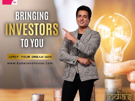 Kuberan's House Announces India's Biggest Startup Show