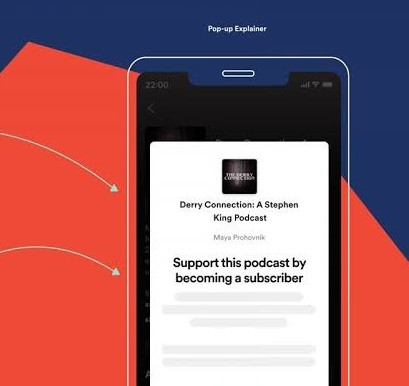 Audio streaming service Spotify to launch podcast subscription service soon.