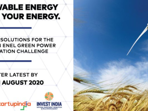 StartUp India invites applications for Enel Green Power Innovation Challenge