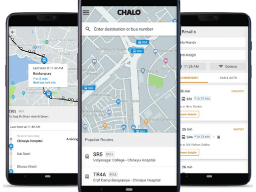 Bus Tracking App Chalo Raised $7 mn To Expand Network To New Cities