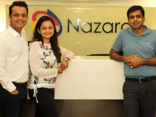 Nazara Technologies becomes India's first gaming company to file for IPO