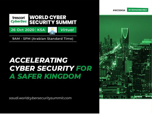 Saudi Arabia's top Cyber Defense experts to explore cyber/info security readiness alongside top tech