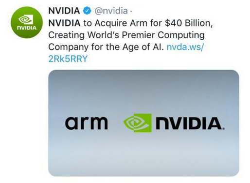 SoftBank sells chip designer Arm to Nvidia in $40 bn deal