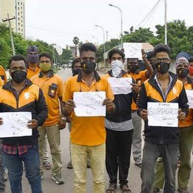 Swiggy Delivery Executives Announce Indefinite Strike In Hyderabad