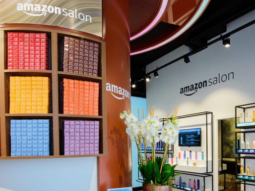 Amazon has opened AR-enabled hair salon in London