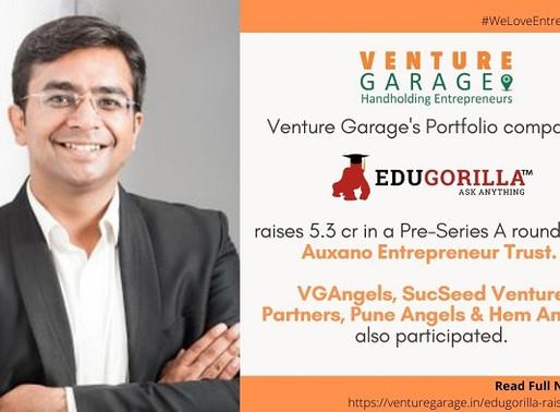 Ed-Tech start-upEduGorillaraises funding fromAuxano Entrepreneur Trustand group of Angels