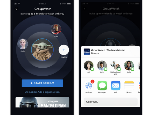 Disney+ rolls out its GroupWatch feature