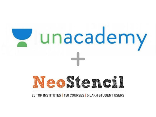 Unacademy acquires test prep platform NeoStencil as their 6th acquisition of the year