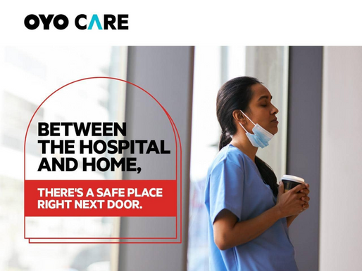 OYO announces OYO Care feature for COVID-19 quarantine and isolation cases amongst guests