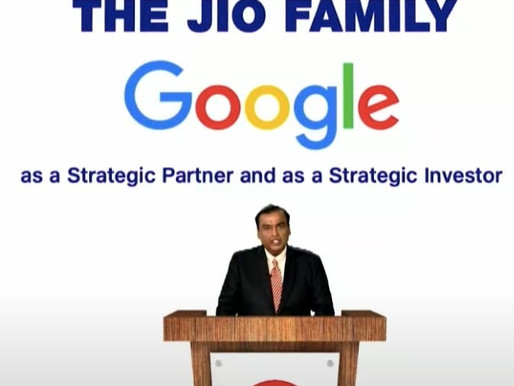 Google Files For CCI Approval For Stake Buy In Jio Platform