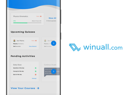 Edtech platform Winuall raises $2Mn led by Prime Venture Partners, BEENEXT, others