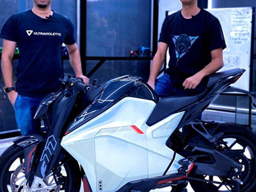 Electric bike startup Ultraviolette plans to raise up to $75 Mn