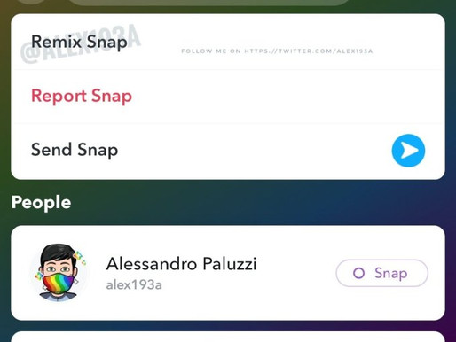 Snapchat is developing its own take on TikTok Duets with a new 'Remix' feature