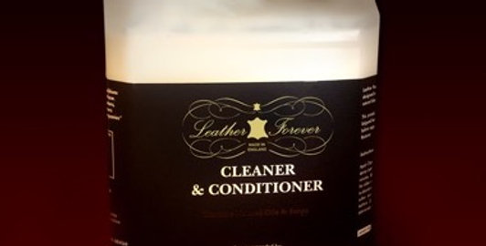 Leather Forever Cleaner and Conditioner - 5 Litre