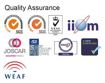 Quality assurance accreditation