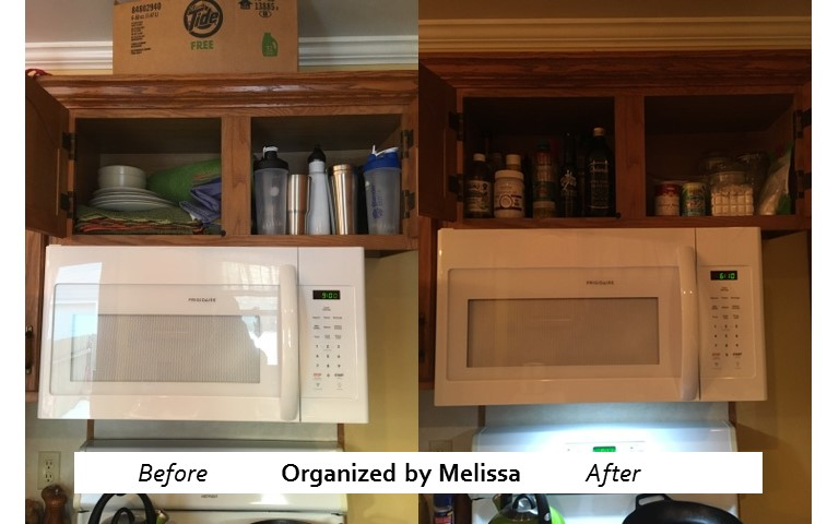 A Kitchen Organized by Melissa
