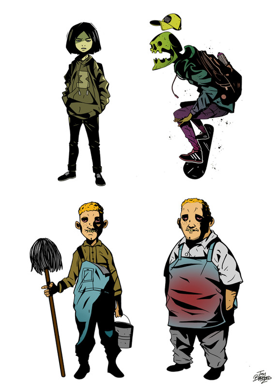 7. Character Designs